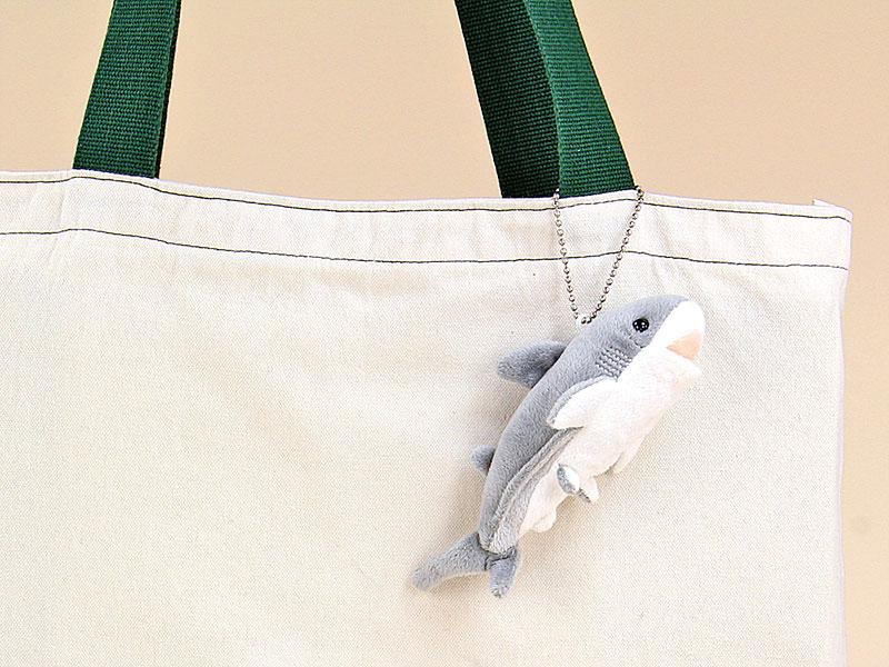 海の生物 ぬいぐるみマスコット ホホジロザメ