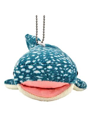 海の生物 ぬいぐるみマスコット ジンベエザメ 正面