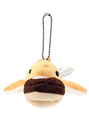 海の生物 ぬいぐるみマスコット メガマウスザメ 正面