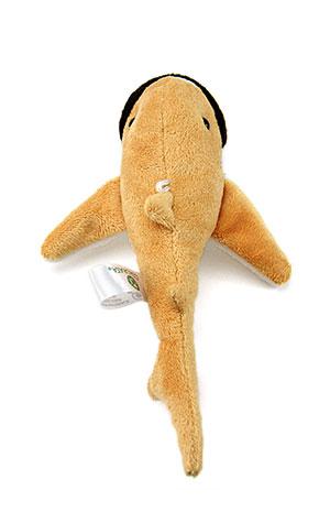 海の生物 ぬいぐるみマスコット メガマウスザメ 真上