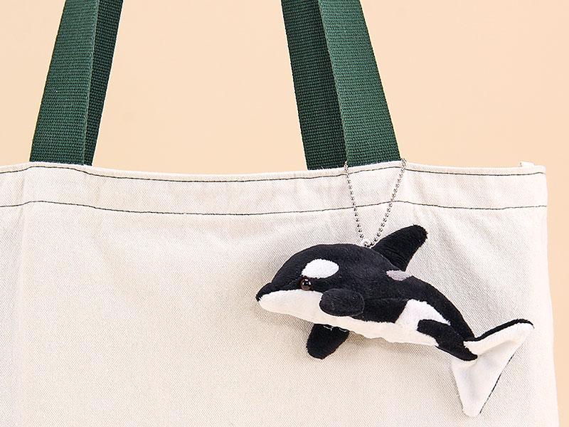 海の生物 ぬいぐるみマスコット シャチ