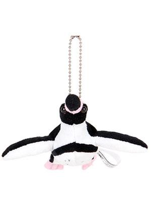 海の生物 ぬいぐるみマスコット フンボルトペンギン 正面
