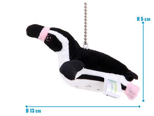 海の生物 ぬいぐるみマスコット フンボルトペンギン サイズ