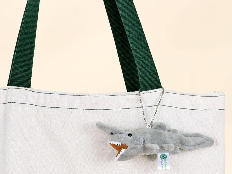 海の生物 ぬいぐるみマスコット ミツクリザメ