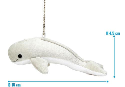 海の生物 ぬいぐるみマスコット スナメリ サイズ