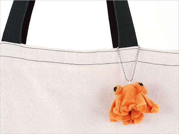 海の生物 ぬいぐるみマスコット リアルメンダコ 使用イメージ