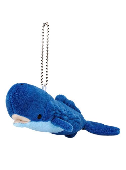 海の生物 ぬいぐるみマスコット マッコウクジラ 斜め