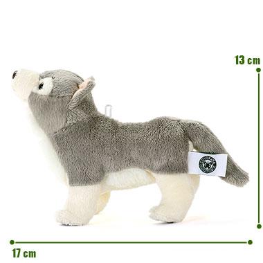 リアル野生動物 マスコット オオカミ サイズ