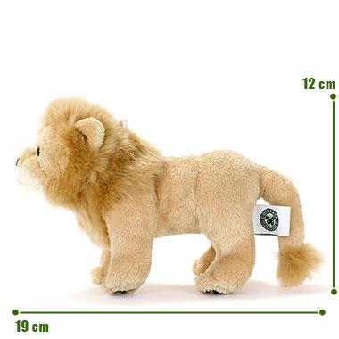 リアル野生動物 マスコット ライオン サイズ