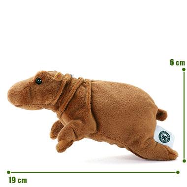リアル野生動物 マスコット カバ サイズ