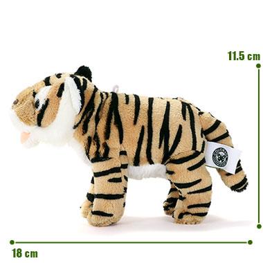 リアル野生動物 マスコット トラ サイズ