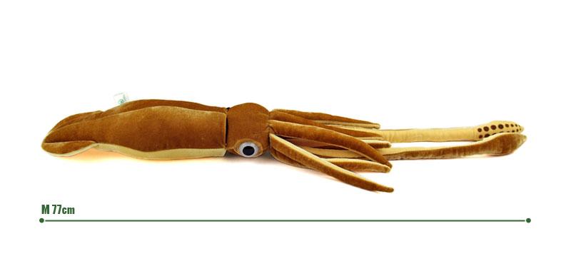 リアル 動物 生物 ぬいぐるみ ダイオウイカ Mサイズ サイズ