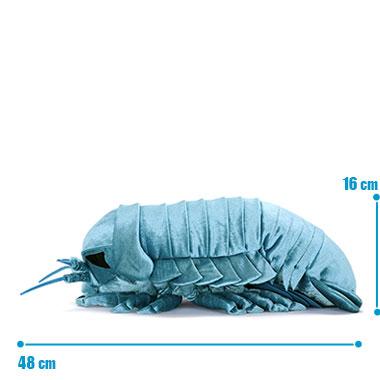 リアル 動物 生物 ぬいぐるみ ダイオウグソクムシ サイズ
