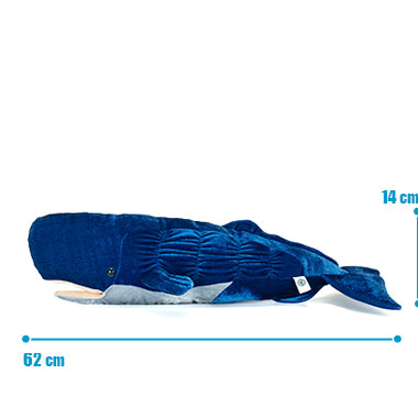 リアル 動物 生物 ぬいぐるみ マッコウクジラ サイズ