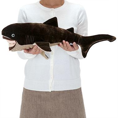 リアル 動物 生物 ぬいぐるみ メガマウスザメ 大きさ