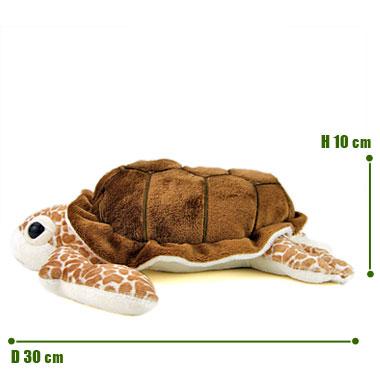 リアル 動物 生物 ぬいぐるみ アカウミガメ M サイズ