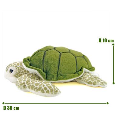 リアル 動物 生物 ぬいぐるみ アオウミガメ M サイズ