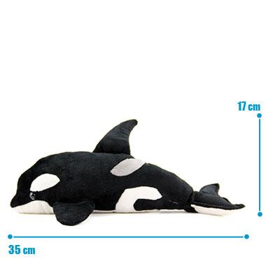 リアル 動物 生物 ぬいぐるみ シャチ サイズ