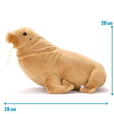 リアル 動物 生物 ぬいぐるみ セイウチ サイズ