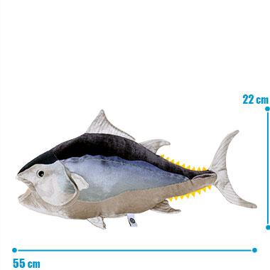 リアル 動物 生物 ぬいぐるみ クロマグロ 成魚 サイズ