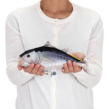 リアル 動物 生物 ぬいぐるみ クロマグロ 幼魚 大きさ