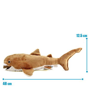リアル 動物 生物 ぬいぐるみ メガマウスザメ サイズ
