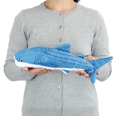 リアル 動物 生物 ぬいぐるみ ジンベエザメ Mサイズ 大きさ