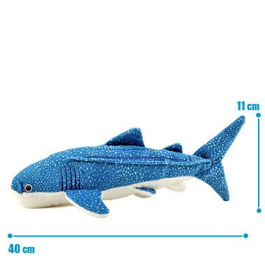 リアル 動物 生物 ぬいぐるみ ジンベエザメ M サイズ