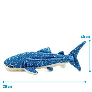 リアル 動物 生物 ぬいぐるみ ジンベエザメ S サイズ