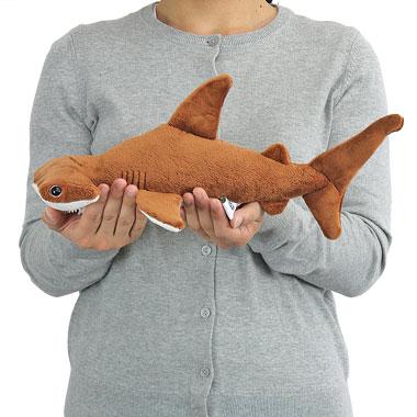 リアル 動物 生物 ぬいぐるみ アカシュモクザメ Mサイズ 大きさ
