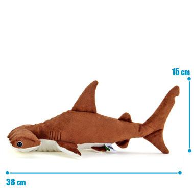 リアル 動物 生物 ぬいぐるみ アカシュモクザメ Mサイズ