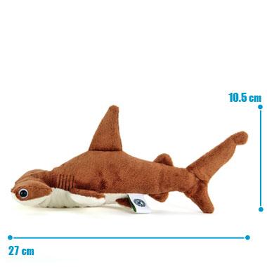 リアル 動物 生物 ぬいぐるみ アカシュモクザメ Sサイズ