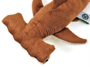 リアル動物 生物ぬいぐるみ アカシュモクザメ 特徴