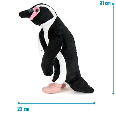 リアル 動物 生物 ぬいぐるみ フンボルトペンギン 親 スタンディング サイズ