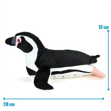 リアル 動物 生物 ぬいぐるみ フンボルトペンギン 親 スイミング サイズ