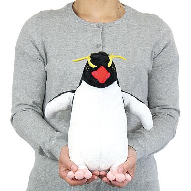 リアル 動物 生物 ぬいぐるみ イワトビペンギン 親 スタンディング 大きさ
