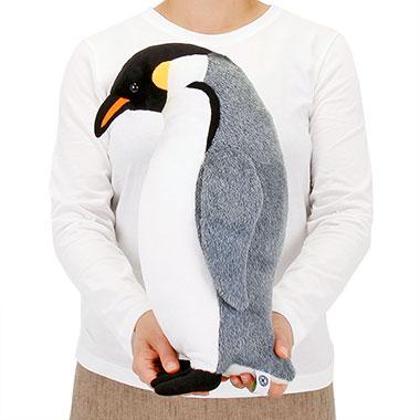 リアル 動物 生物 ぬいぐるみ エンペラーペンギン 親 スタンディング 大きさ
