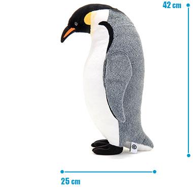 リアル 動物 生物 ぬいぐるみ エンペラーペンギン 親 スタンディング サイズ