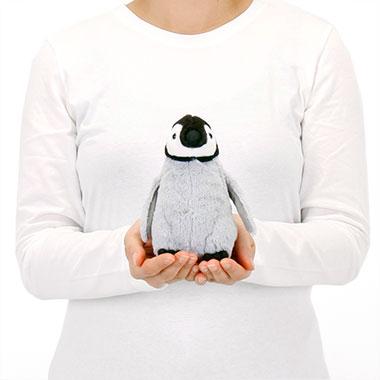 リアル 動物 生物 ぬいぐるみ エンペラーペンギン ヒナ 大きさ