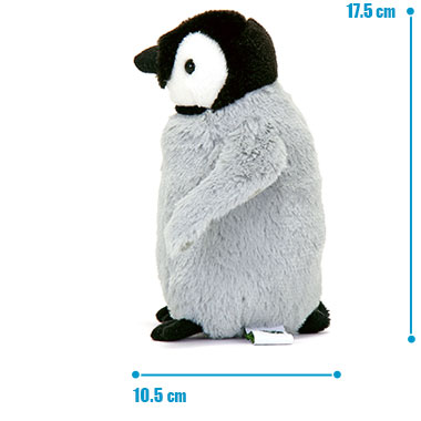 リアル 動物 生物 ぬいぐるみ エンペラーペンギン ヒナ サイズ