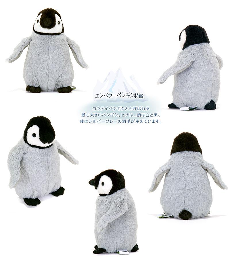 リアル動物 生物 ぬいぐるみ エンペラーペンギン 特徴
