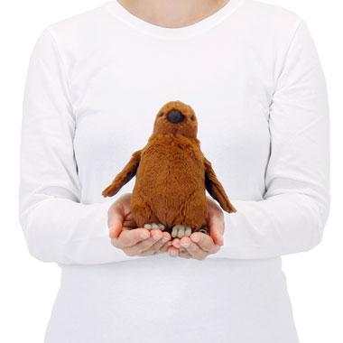 リアル 動物 生物 ぬいぐるみ キングペンギン ヒナ 大きさ