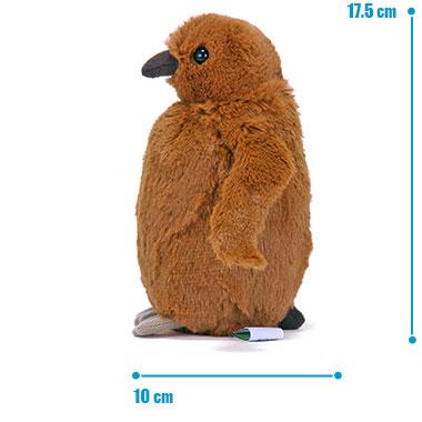 リアル 動物 生物 ぬいぐるみ キングペンギン ヒナ サイズ