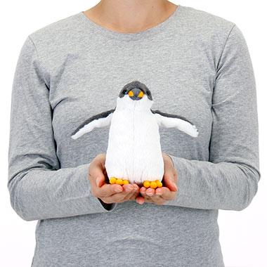 リアル 動物 生物 ぬいぐるみ ジェンツーペンギン ヒナ 大きさ