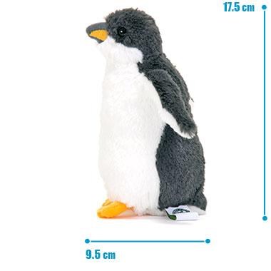 リアル 動物 生物 ぬいぐるみ ジェンツーペンギン ヒナグ サイズ