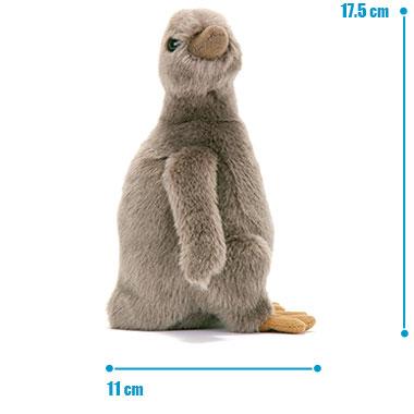 リアル 動物 生物 ぬいぐるみ フンボルトペンギン ヒナ サイズ