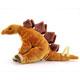 リアル恐竜ぬいぐるみ おすわりシリーズ ステゴサウルス 幅