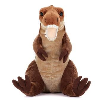 リアル恐竜ぬいぐるみ おすわりシリーズ  ティラノサウルス Mサイズ