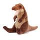 リアル恐竜ぬいぐるみ おすわりシリーズ  ティラノサウルス Mサイズ 斜め