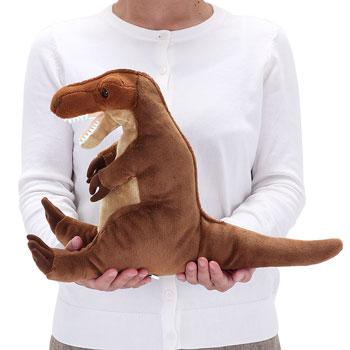 リアル動物ぬいぐるみ ねそべりシリーズ ティラノサウルス M 大きさ